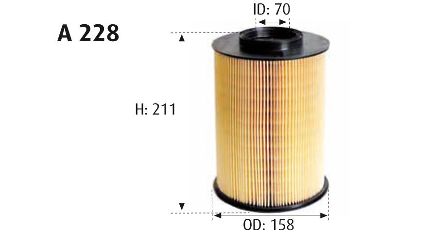 Mann-Filter c30130 filtro de aire para Opel