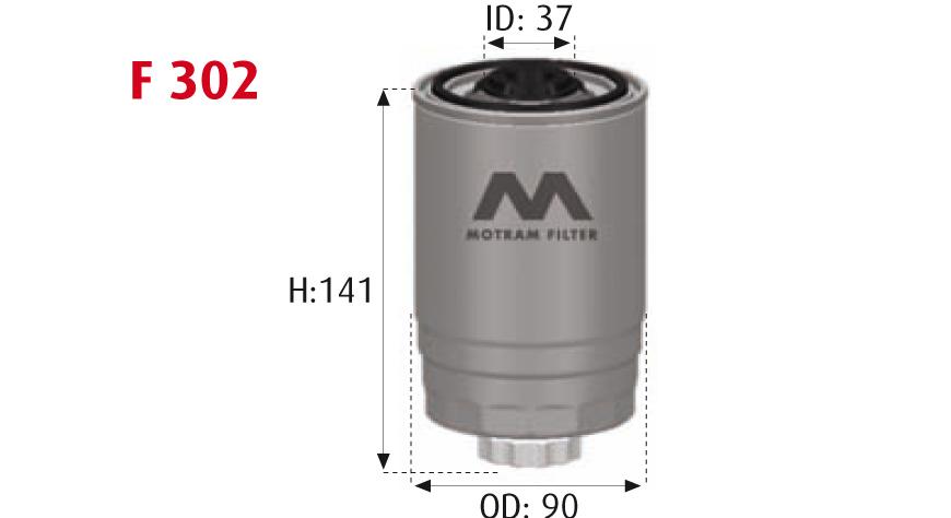 CARBURANTE Filtro Bosch 1 457 431 158