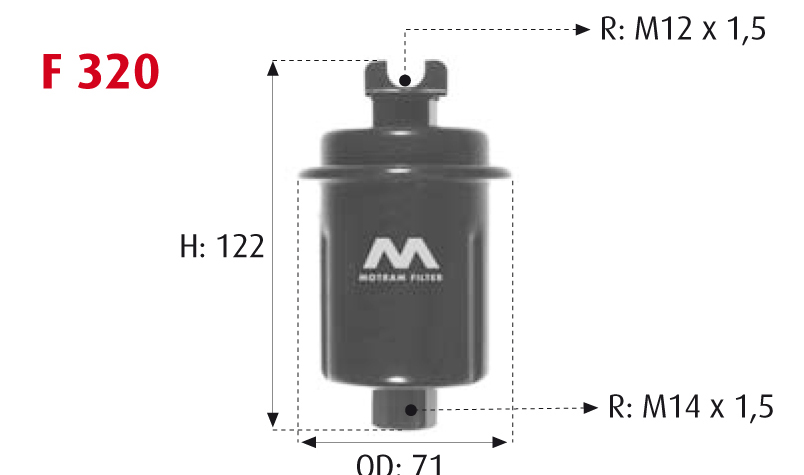 Purflux C483 Inyecci/ón de Combustible