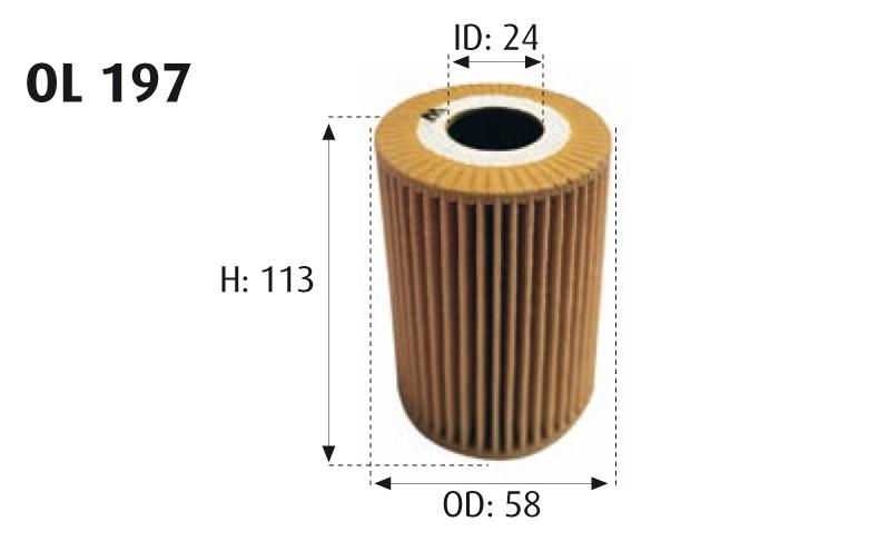 Ufi Filters 25.162.00 Filtro De Aceite